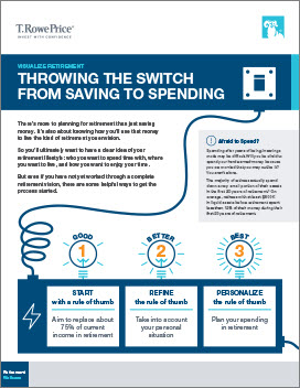 Throwing the Switch from Saving to Spending