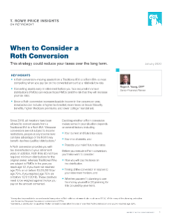 Roth Conversion Strategies