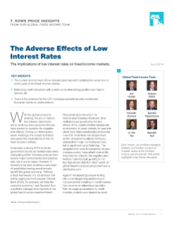 Adverse Effects of Low Interest Rates PDF