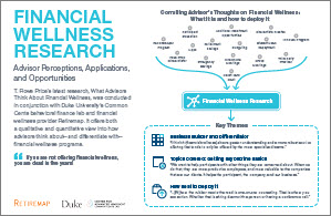 Financial Wellness Research Summary
