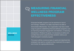 Measuring Financial Wellness Program Effectiveness