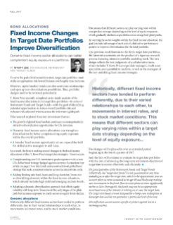 Fixed Income Changes PDF