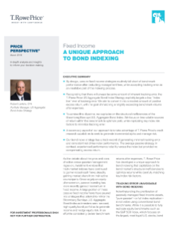 Fixed Income - A Unique Approach to Bond Indexing