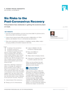 Six Risks to the Post-Coronavirus Recovery