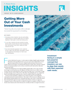 Getting More Out of Your Cash Investments