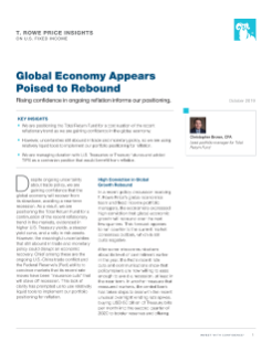 Global Economy Appears Poised to Rebound