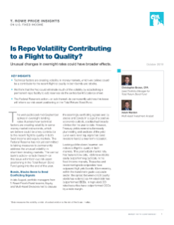 Is Repo Volatility Contributing to a Flight to Quality?