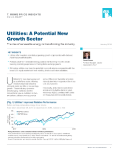 Utilities: A Potential New Growth Sector