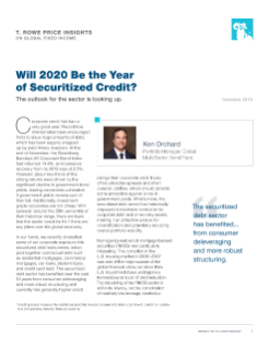Will 2020 Be the Year of Securitized Credit?