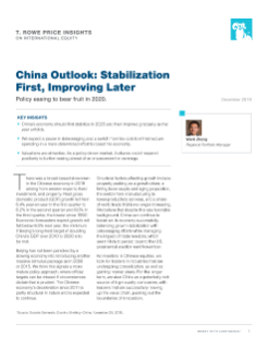 China Outlook: Stabilization First, Improving Later