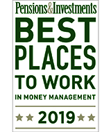 Pensions & Investments 2019 Best Places To Work In Money Management