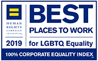 Human Rights Campaign 2019 Best Places To Work for LGBTQ Equality