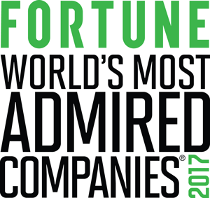 Fortune 2017 World's Most Admired Companies
