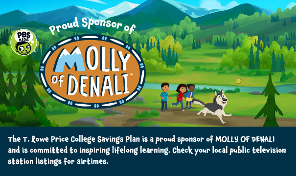 Proud Sponsor of Molly of Denali