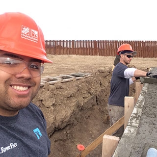 T. Rowe Price Associates building a house for Habitat for Humanity