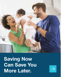 Saving now can save you more later.